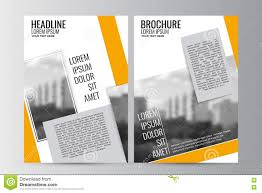 Newspaper Flyer Template Abstract Flyer Design Background Brochure Template Stock