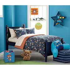 mainstays kids woodland safari boy bed in a bag bedding set com
