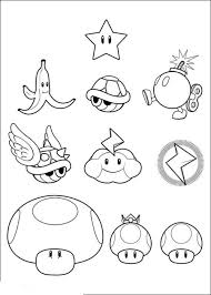 Collection Mario Brothers Printable Coloring Pages Pictures