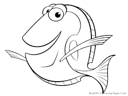 Coloring Fish Pics Clown Page Colouring Pages Children Extraordinary