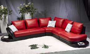 red and black furniture. red sectional sofa reclining sofas for small spaces leather furniture and black