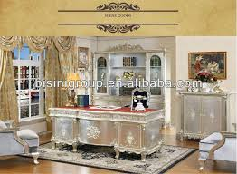 french style office furniture. French Style Soild Wood Office Desk Set; Silver Color Wooden Furniture,Classical Home Furniture L