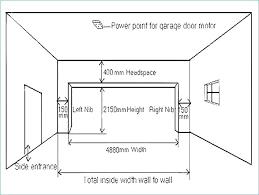 Commercial Garage Door Size Chart Garage Door Clearance Rentrebate Info