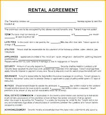 House Contract Template House Rental Contract Template House Lease