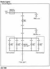 tail lights won& 39;t go off 1992 1995 92 Honda Civic Wiring Diagram Honda Civic DX Wiring Diagrams