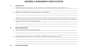 paragraph essay outline twenty hueandi co paragraph essay outline