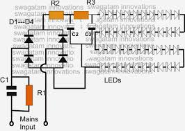 innovative lighting wiring diagram led circuit diagrams the wiring diagram simple led bulb circuit electronic circuit projects circuit diagram