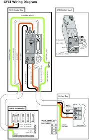 colorful gfci wiring schematic model electrical diagram ideas gfci wiring instructions full size of hot tub wiring schematic how to wire a breaker gfci box