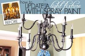 painted chandeliers light fixture