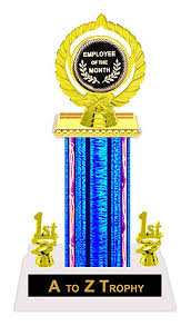 Employee Of The Month Trophy Amazon Com Trophies Employee Of The Month Trophy 11 1 2