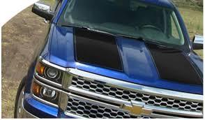 Chevrolet Silverado Graphics Kits Vinyl Decals Rally Stripes