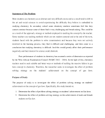 problem solving strategy and students achievements on the concept of 17 statement of the problem most students see chemistry