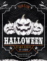 Halloween Party Flyer Halloween Party Flyer Poster By Oloreon GraphicRiver 11