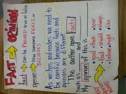 Fact Vs Opinion Anchor Chart Quotes About Fact And Opinion 68 Quotes