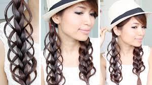 Braids Hairstyles Tumblr Loop Braid Hair Tutorial Braided Hairstyle Bebexo Youtube