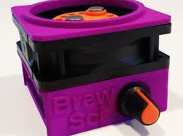 diy stir plate enclosure 3d printed enclosure shown with diy stir plate kit