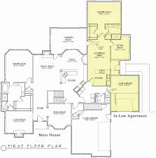 house plans with inlaw apartment with kitchen unique home plans with mother in law suite inspirational