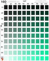 Photoshop Color Chart Color Charts A La Carte Part Of The Origin Inc Textile