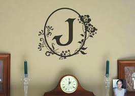 wall decals letters also image of monogram for nursery writing australia vinyl