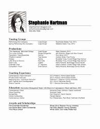 Microsoft Word 2007 Resume Template Best Of Free Resume Template ...