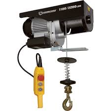 strongway hoist wiring diagram strongway image strongway electric cable hoist u2014 1 100 lb 2 200 lb capacity on strongway hoist wiring