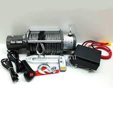 Купить <b>Лебедка</b> электрическая 12V Electric Winch кевларовым ...
