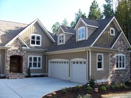 pictured local painters advise you work around the stone features of a home like this