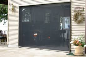 garage screen doorsRetractable Garage Screen for Double and Single Garages  Stoett