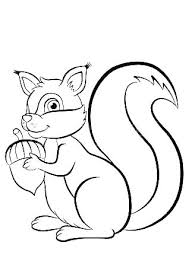 Squirrels Coloring Pages Squirrel Sandy The Page Flying Colo
