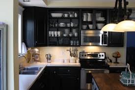 behr beluga kitchen black cabinets open shelving ikea billion intended for open kitchen cabinets