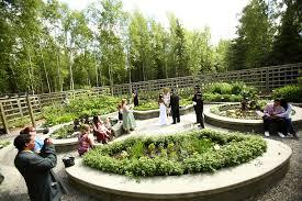 anchorage wedding kizzy david at the alaska botanical gardens by joe connolly