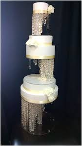 how to make chandelier cake stand best cake stands images on hanging chandelier cake stand india