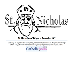 Small Picture St Nicholas Coloring Page Printable CatholicMomcom