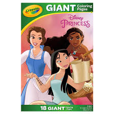 These oversized pages feature large, detailed images that can be colored with crayons, colored. Gcp Princess Foldalope 24pk Drawing Coloring Meijer Grocery Pharmacy Home More