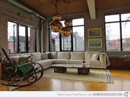 Industrial Style Living Room Furniture 1000 Ideas About Industrial Living Rooms On Pinterest Industrial