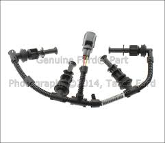 new oem left side lh glow plug wiring harness 2008 2010 ford f image is loading new oem left side lh glow plug wiring