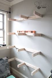 diy floating shelves plans and tutorial