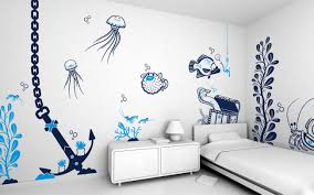 wall painting ideas designs inspiration cool art bedroom for teenagers
