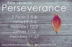 Door Post Verses: Perseverance   Lighthouse Bible Studies