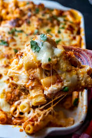 easy baked ziti with ricotta a wicked