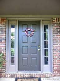exterior paint colors that go with brickFront Doors  Best Color To Paint Front Door To Sell House Front