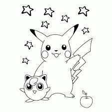 Leuk Voor Kids Pikachu Jigglypuff Kleurplaten Pokemon Printen In