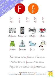 See more of el libro nacho on facebook. Hojas De Lectura Y Cuadernillo De Actividades Letra F Actividades De Letras Lectura Y Escritura Letra F