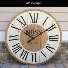large image for impressive large wall clocks canada 81 vintage wall clock canada large wall clock