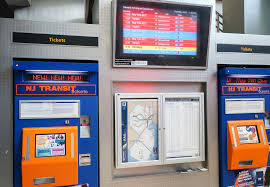 Nj Transit Ticket Vending Machines Cool Newark Airport Train Transfer Guide EWR Train To The Airport