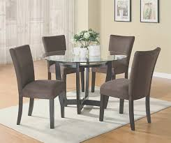 inspirational round dining room table and chairs