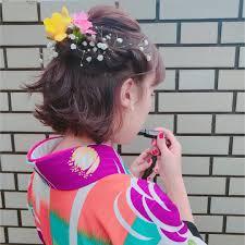 Toショートヘアの卒業生学生最後短くて良かったと思える袴用ヘア
