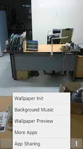 Transparent Wallpaper Setting for ...
