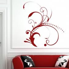 Small Picture Floral Flowers Trees Foliage Wall Stickers Iconwallstickers