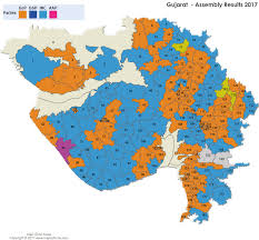 2012 Election Chart Gujarat Assembly Elections Results 2017